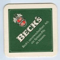 Beck's base frente