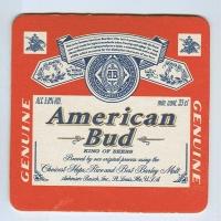 Budweiser   (USA) base frente