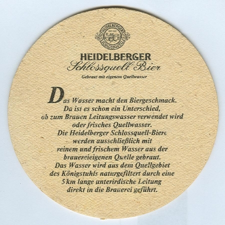 Heidelberger base verso