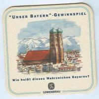Löwenbräu base frente