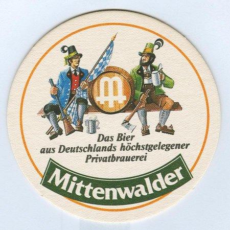 Mittenwalder base verso
