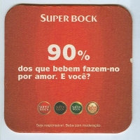 Super Bock base verso